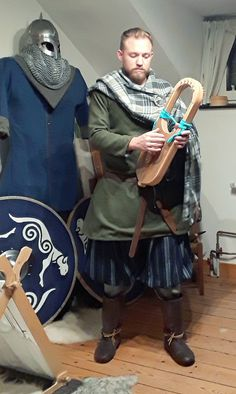Viking Warrior, Viking Age, Celtic Clothing, 11th Century, Iron Age, Anglo Saxon, Picts, Character Reference, Dark Ages