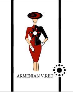 #Armenian V.,,, Red.,,,#BusinessSuit #WomenWear #Հայկական Ո.,,, Կարմիր.,,,#ԳործնականԿոստյում #ԿանացիՀագուստ
