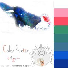 Color Palette of 13 maggio 2014- Papera multicolor http://graficscribbles.blogspot.it/2014/05/color-palette-of-13-maggio-2014-papera.html