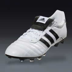 adidas Gloro FG - White/Core Black/Core Black Firm Ground Soccer Shoes | SOCCER.COM