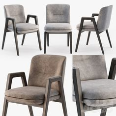 Minotti Lance chair