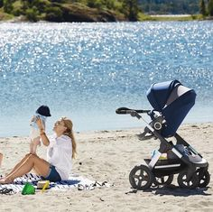Bringing Baby Gear Onto The Beach Is A Breeze With All Terrain Stokke Summer