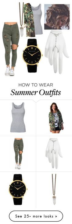 """""""Outfit #232"""" by amahomie on Polyvore featuring Givenchy, Splendid, Larsson & Jennings, Marchesa, women's clothing, women, female, woman, misses and juniors"""