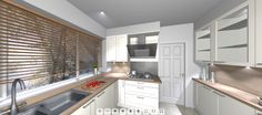 Don't wait around for your dream #Kitchen, Turn it into a reality with Queenline Kitchens 360 #PanoramicView!