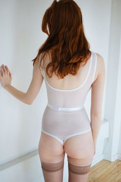 Kayleigh Peddie basic belted bodysuit back