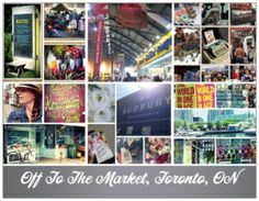 Best of Toronto Markets...http://off2themarket.wordpress.com/2013/08/30/off-to-the-markets-teams-up-with-toronto-hotels-to-promote-local-markets/