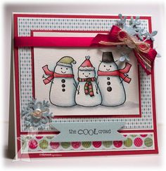 The Cool Crowd by deconstructingjen - Cards and Paper Crafts at Splitcoaststampers