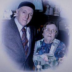 Родители - Мария Моисеевна и Александр Иванович Бродские. 1981 г.