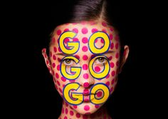 The Stunning Face Typograpghy Posters by NYC Designers Sagmeister & Walsh - Great-Ads