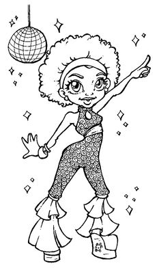 Free African American Children's Coloring Pages ...