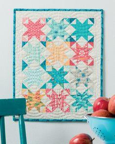 Moda Mini Marvels | Mini Quilts | A Quilting Life - a quilt blog (Photo Martingale)