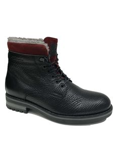 Visit the post for more. Fake Fur, Natural Rubber, Men's Collection, Leather Boots, Combat Boots, High Top Sneakers, Fashion, Leather Booties, Moda