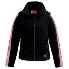 Womens Harley Davidson Pink Label Fleece Jacket 98502-11VW