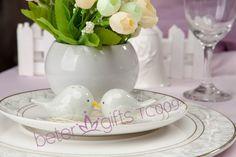 #weddingsouvenirs #saltnpeppershakerset #saltnpeppershakers  #weddinginspirations   BETERGIFTS LOVE Birds Salt and Pepper Shakers Wedding Favor