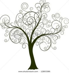 love the shape of this simple tree. this would be great to add some color!  tree of life tattoo - tree of life tattoo  Repinly Tattoos Popular Pins