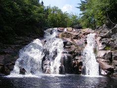 One of my favorite places in the world . Mary Anne Falls In Ingonish Nova Scotia just beautiful and a great place to swim and have fun :P O Canada, Canada Travel, Get Outdoors, The Great Outdoors, Cabot Trail, Discover Canada, East Coast Road Trip, Atlantic Canada, Cape Breton