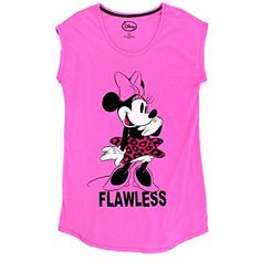 e7834d214f Minnie Mouse Womens Plus Nightshirt Pajamas (Minnie Pink) Briefly Stated Women s  plus size nightgown sleep shirt Despicable Me Minions