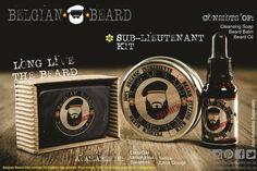 Sub - Lieutenant Kit  – Premium Beard Balm  – Premium Beard Oil  – Cleansing Bar