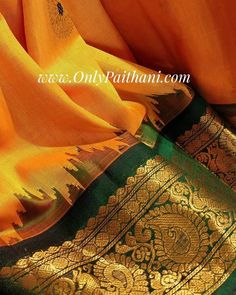 Luxurious Gadwal Silks with intricate borders only at www.OnlyPaithani.com  For details kindly call or WhatsApp on 9833767750.  #bridalsarees #paithani #paithanilover #silksaree #handloomsaree #traditional #weddingpaithani #wedding #bridal #makeinindia #fashionista #ethnic #onlineshopping #weddingcollection #womensfashion #indianculture #ethinicwear #traditionalwear #fashionindia #gadwalsilksaree