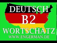 Deutsch B2 Wortschatz | German B2 Level Vocabulary #2
