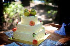 """Perfect Pear"" Wedding Cake"