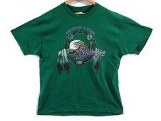 1995 Sturgis Tee - XL - Green - Motorcycle Rally Shirt - Biker Clothing - 90s Clothing - Vintage - Moto - Black Hills Rally 1995 - by BLACKMAGIKA on Etsy