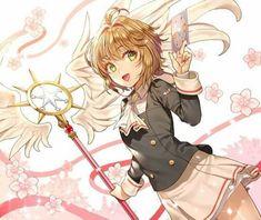 Las cartas y el nuevo báculo de Sakura son preciosos!!