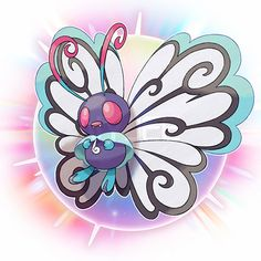 Mega Butterfree by Nyjee