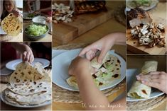 U nás na kopečku: toustový chleba, těsto na pizzu a tortilly Camembert Cheese, Pizza, Mexican, Cooking, Ethnic Recipes, Breads, Kitchen, Bread Rolls, Bread