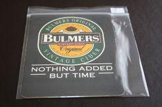 1995 Beermat Bulmers Cider Cat 496 (2B23 9/14)