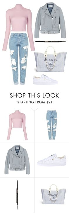 """""""Mood"""" by itsamandarose on Polyvore featuring A.L.C., Topshop, Acne Studios, Puma and Anastasia Beverly Hills"""