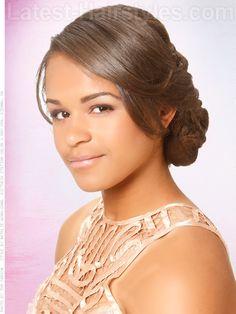 Black Wedding Hairstyles: 17 Beautiful Black Hairstyles For Weddings