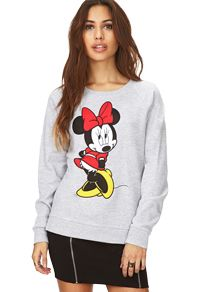 Minnie Mouse sweater from Mickey & Co @ Forever 21