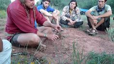 Dual Survival star Cody Lundin teaches Ecosa Institute students how to m...