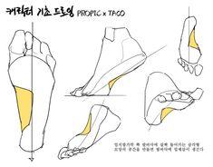 Feet Drawing, Body Drawing, Anatomy Drawing, Anatomy Art, Figure Drawing, Drawing Skills, Drawing Poses, Drawing Tips, Drawing Sketches