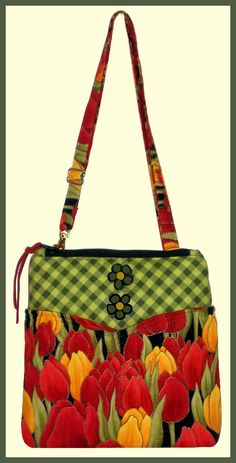 very cute purse pattern with outside and inside pockets smaller one.
