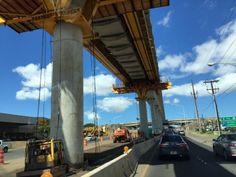 さとうあつこのハワイ不動産: HART モノレール進んでいます!
