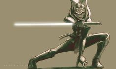 Ahsoka Tano- Star Wars Rebels fan art