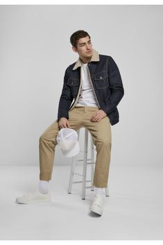 Khaki Pants, Fashion, Moda, Khakis, Fasion, Fashion Illustrations, Fashion Models, Trousers