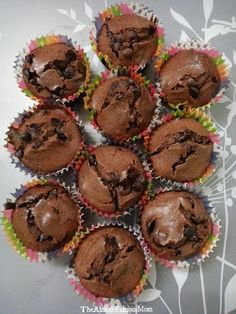 The Almost Famous Mom: AirBaked Classic Chocolate Muffins