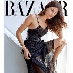 Harper's Bazaar Singapore August 2016 Isabeli Fontana by Yu Tsai -... ❤ liked on Polyvore featuring models