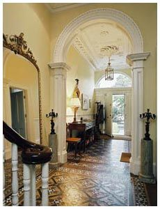 Front hallway, Georgian style