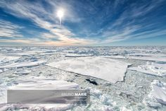 Traversée du pack de glace, Antarctique