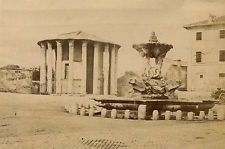 Albumen Photograph Italy Rome Temple of Vesta 1870