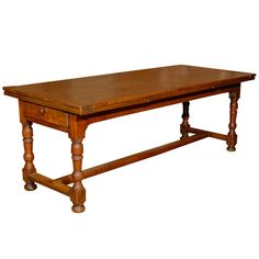 Custom Made Dutch Pull Or Draw Leaf Dining Table  Fully Furnished Amazing Dining Room Table With Pull Out Leaves Inspiration