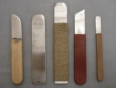 Equipment - Jeff Peachey workshop on making lift knives and other knife tools from Henry Hebert's blog.
