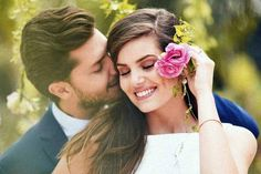 Camila Queiroz wore a midi length dress & Kleber Toledo a navy blue suit + skinny tie and struck adorable portrait poses on their civil wedding ceremony. Romantic Couple Poses, Wedding Couple Poses Photography, Couple Picture Poses, Couple Posing, Couple Pictures, Civil Wedding Dresses, Wedding Photoshoot, Wedding Couples, Romance