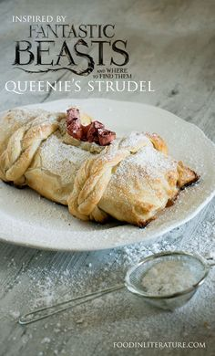 Serve up an easy version of Queen's Strudel recipe from Fantastic Beasts and Where To Find Them.