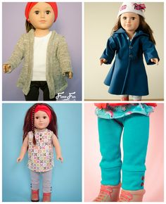 As many of you know, I've been drafting patterns for Fleece Fun. The amazing part of this site is that it is all free! So click on through to get your free copies of these patterns… … a slouchy cardigan… …cuffed leggings… …sweet little blouse… …and a softshell jacket… enjoy!  Related