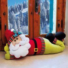 Christmas Chair, Christmas Ties, Christmas Wall Hangings, Christmas Sewing, Felt Christmas, Christmas Projects, Christmas Sweaters, Elf Christmas Decorations, Fabric Animals